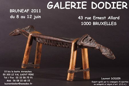BRUNEAF 2011 - Galerie Laurent Dodier - Art Tribal