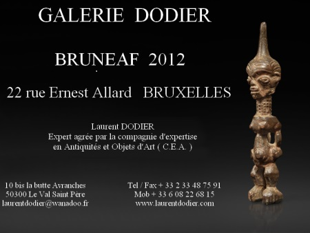 BRUNEAF 2012 - Galerie Laurent Dodier - Art Tribal