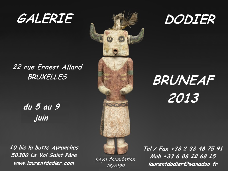 BRUNEAF - 2013 - Galerie Laurent Dodier - Art Tribal
