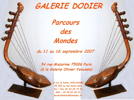 Parcours des Mondes 2007