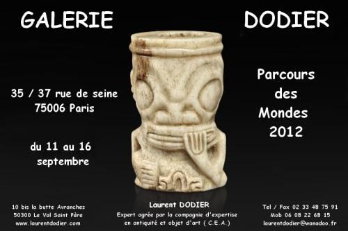 Parcours des Mondes 2012 - Galerie Laurent Dodier - Art Tribal