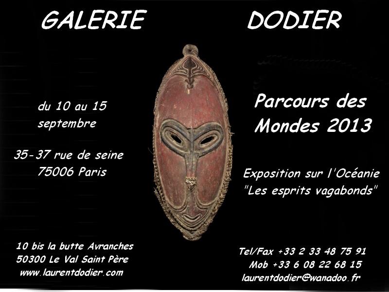 Parcours Des Mondes 2013 - Galerie Laurent Dodier - Art Tribal