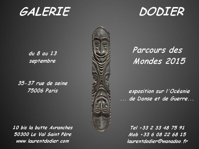 Parcours des Mondes 2015 - Galerie Laurent Dodier - Art Tribal