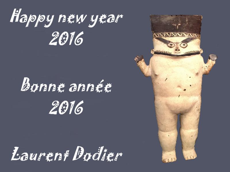 Vœux 2016 - Galerie Laurent Dodier - Art Tribal
