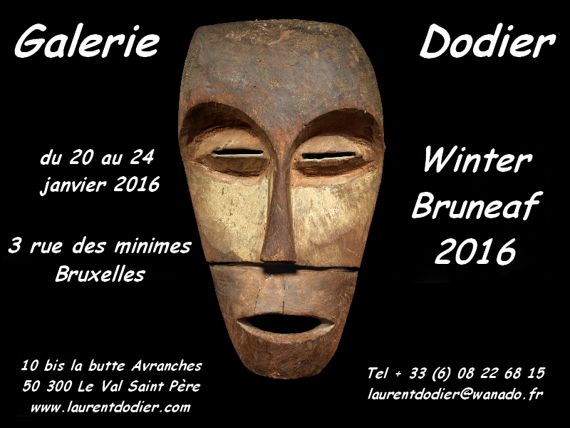 Winter BRUNEAF 2016 - Galerie Laurent Dodier - Art Tribal