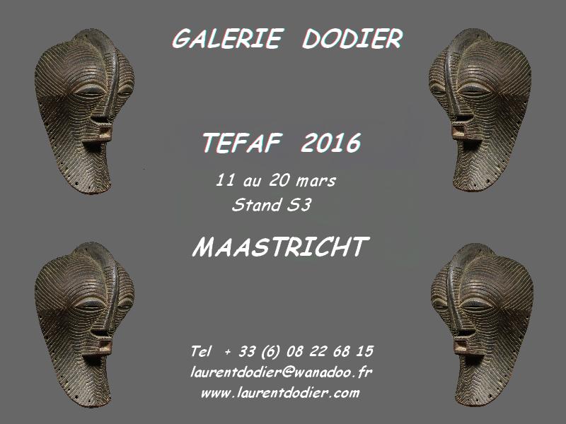 TEFAF 2016 - Galerie Laurent Dodier - Art Tribal