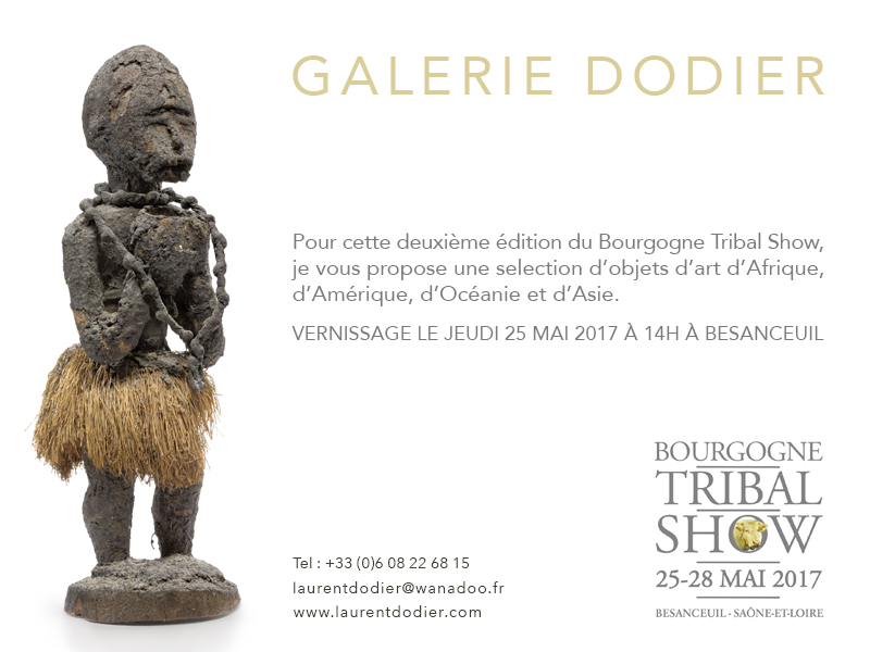 Bourgogne Tribal Show 2017 - Galerie Laurent Dodier - Art Tribal