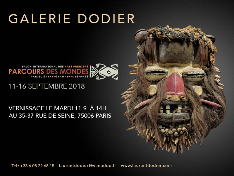 Parcours des Mondes 2018 - Paroles tribales - Galerie Laurent Dodier - Art Tribal