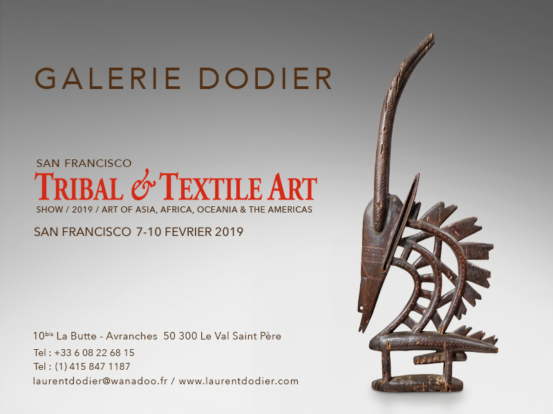San Francisco Tribal & Textile Arts Show 2019 - Galerie Laurent Dodier - Art Tribal