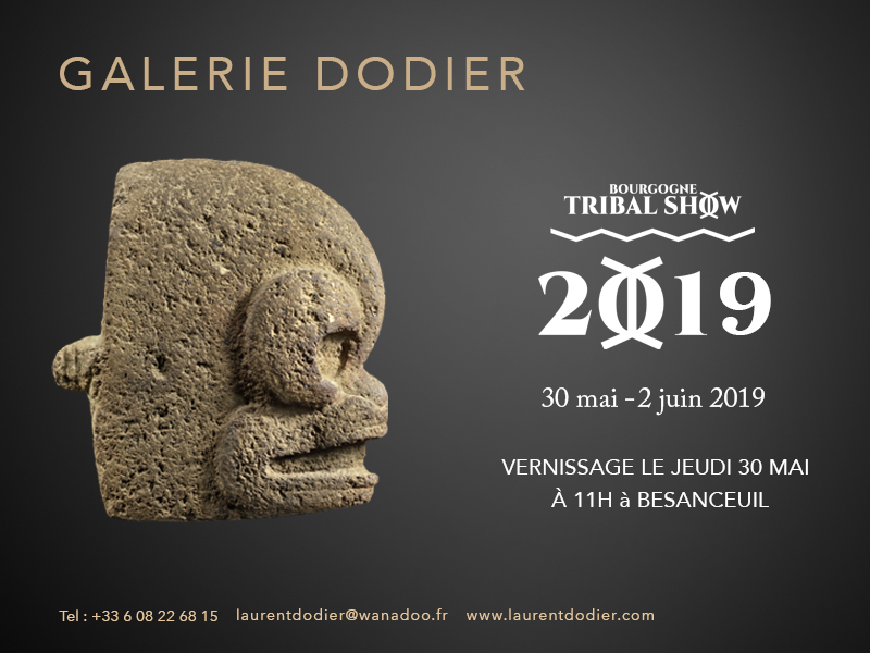 Bourgogne Tribal Show 2019 - Galerie Laurent Dodier - Art Tribal