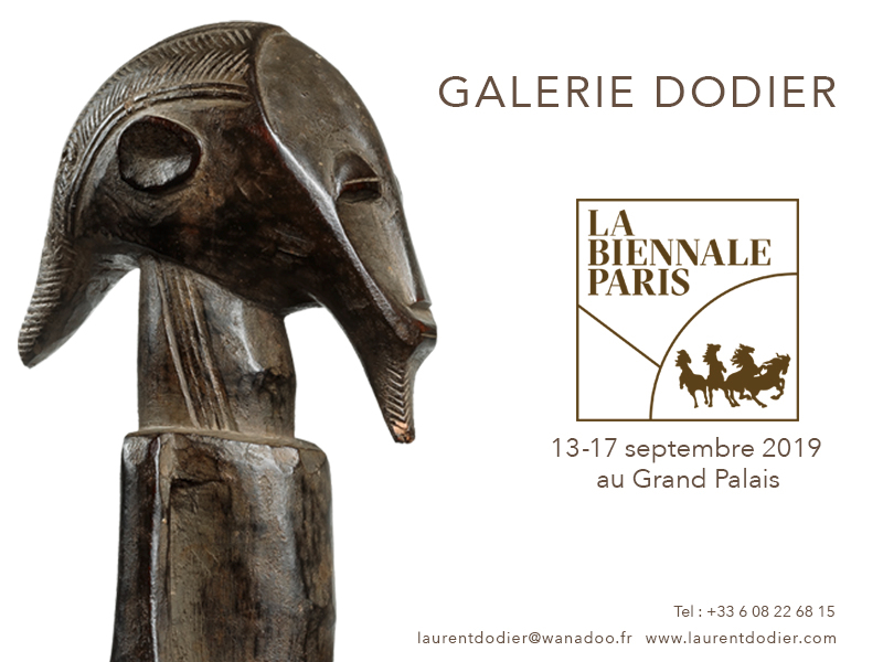 Biennale Paris 2019 - Galerie Laurent Dodier - Art Tribal