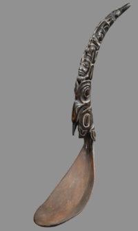 Cuillère Haida - Galerie Laurent Dodier - Art Tribal