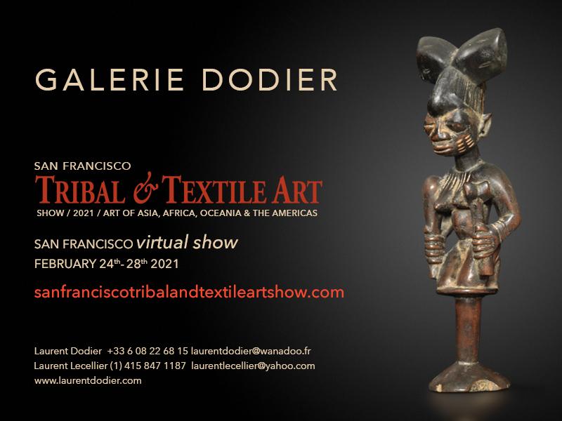 San Francisco Tribal & Textile Arts Show 2021 - Galerie Laurent Dodier - Art Tribal