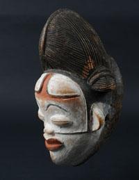Masque Tsangi - Galerie Laurent Dodier - Art Tribal
