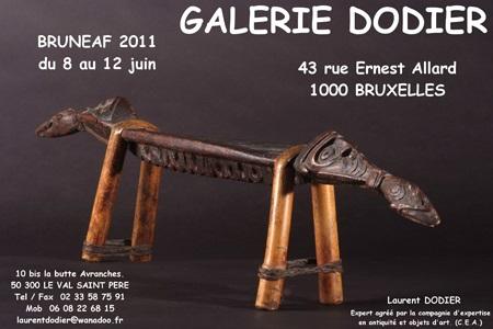 BRUNEAF 2011 - Galerie Laurent Dodier - Art Tribal