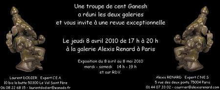 Ganesh 2010 - Galerie Laurent Dodier - Art Tribal