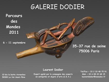 Parcours des mondes 2011 - Galerie Laurent Dodier - Art Tribal