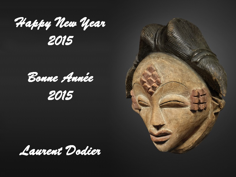 Vœux 2015 - Galerie Laurent Dodier - Art Tribal