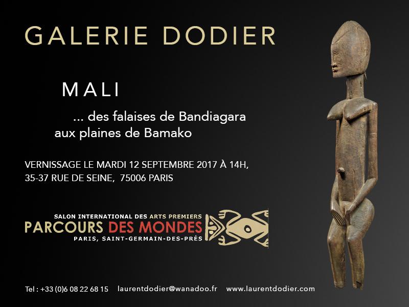 Parcours des Mondes 2017 - Des falaises de Bandiagara aux plaines de Bamako - Galerie Laurent