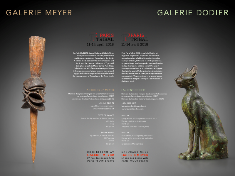 Paris Tribal 2018 - Galerie Laurent Dodier - Art Tribal