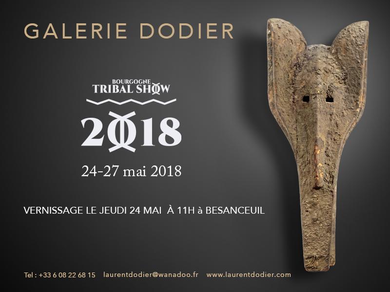 Bourgogne Tribal Show 2018 - Galerie Laurent Dodier - Art Tribal
