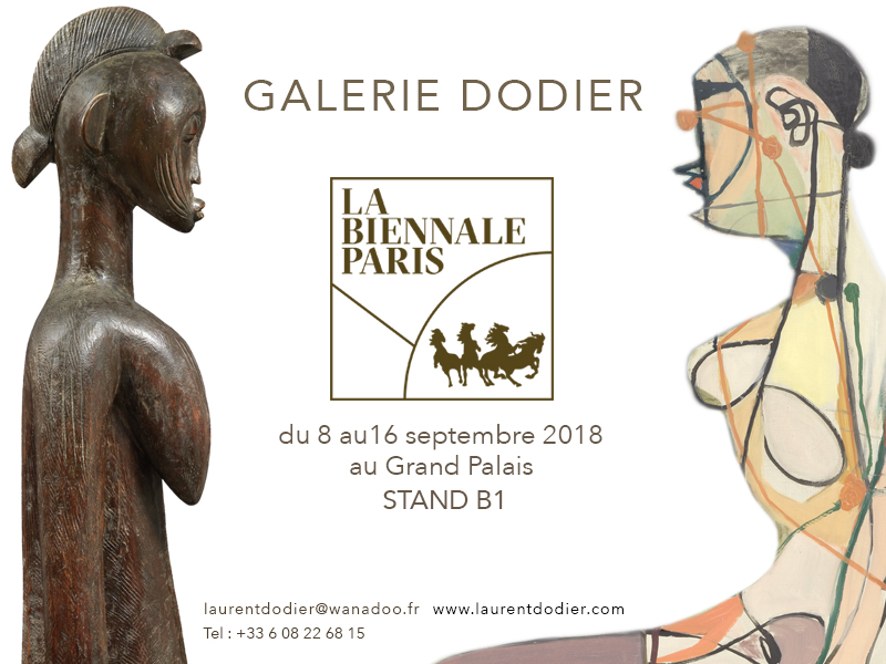 Biennale Paris 2018 - Galerie Laurent Dodier - Art Tribal