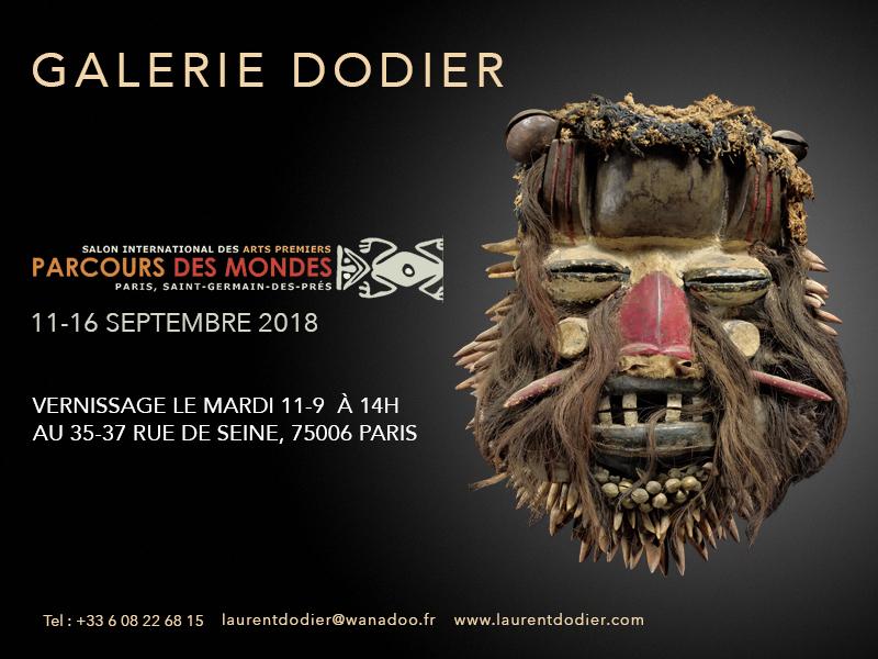 Parcours des Mondes 2018 - Paroles tribales - Galerie Laurent Dodier - Art Tribal