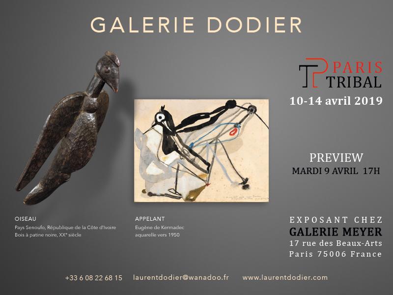 Paris Tribal 2019 - Galerie Laurent Dodier - Art Tribal