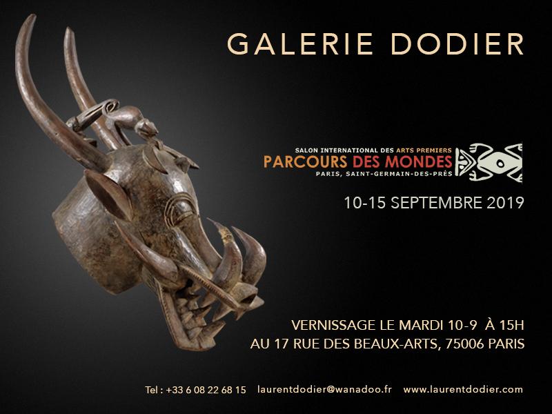 Parcours des Mondes 2019 - Galerie Laurent Dodier - Art Tribal