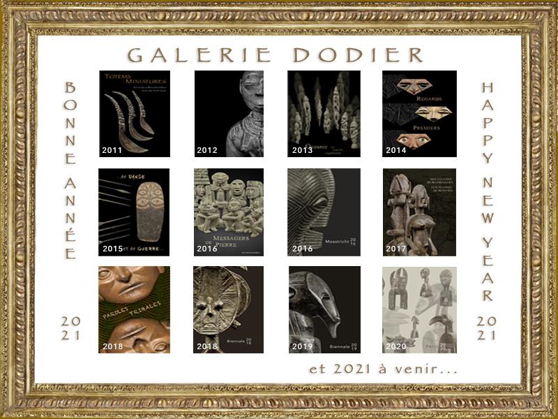 Vœux 2021 - Galerie Laurent Dodier - Art Tribal
