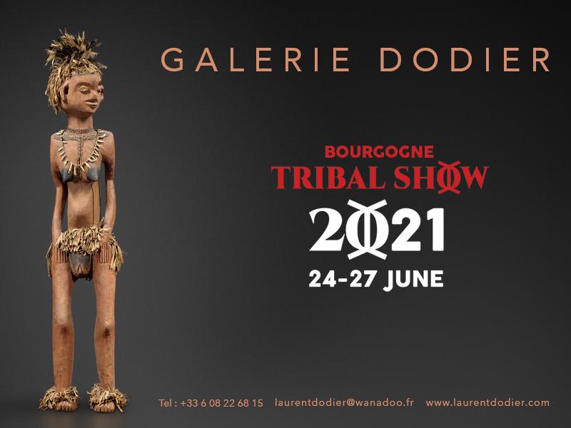 Bourgogne Tribal Show 2021 - Galerie Laurent Dodier - Art Tribal