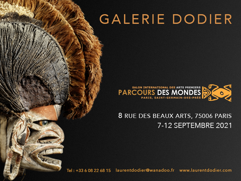 Parcours des Mondes 2021 - Paroles tribales - Galerie Laurent Dodier - Art Tribal